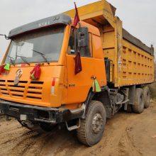 山西忻州出售个人一手陕汽奥龙自卸车,煤矿拉煤,短距离跑,车况好,340马力,价格优