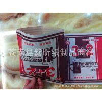 3+2面包纸袋 红牛皮纸防油食品纸袋 皇中王烧饼袋 老婆饼袋