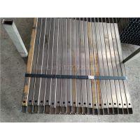 铁管激光切割加工30*30*1.8*1370L 开缺口割圆孔开槽加工
