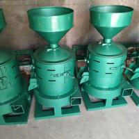 江阴两相电带动大米小米脱皮机 农村小型加工设备辗米机型号