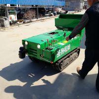 履带式田园管理机 多功能旋耕机 开沟施肥一体机