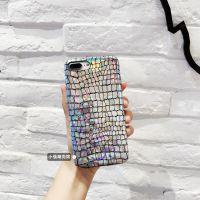 iphone6s闪光鳄鱼纹手机壳 iphoneX奢华个性皮套 6plus炫酷软壳