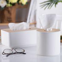 简约北欧风纸巾盒木盖抽纸盒实木客厅遥控器收纳盒创意餐厅餐纸盒