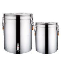 厂家直销不锈钢保温桶 双层pu发泡保温饭桶 汤桶 商用大容量奶茶 豆浆桶