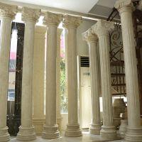 寺庙大理石工艺品 仿古工艺品圆柱 创意个性名胜古迹大立柱工艺品