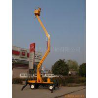 供应两用10.5米移动式折臂式高空升降机 液压高空作业平台