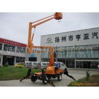 供应两用12米升降机修路灯用升降台 高空作业平台 小型电动升降机