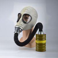 山西新华化工科技牌 MF1A型 头戴式 防毒口罩面具 厂家直销