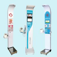 带打印功能身高体重血压脂肪健康体检一体机 HW-900BZ可折叠