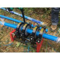 手摇四组热熔对接机半自动200pe塑料管道焊接机