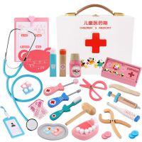 .大号小学生输液过家家医生玩具巧虎爱心装备儿童节医药箱牙科大