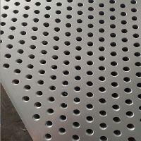 铝冲孔板圆孔洞洞板304不锈钢网板镀锌筛板