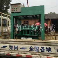 柳州当地使用空心砌块免烧砖机设备就找中复