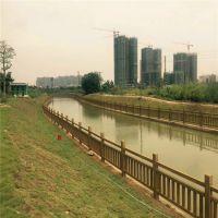 【水泥仿木栏杆制作方法 混凝土仿木护栏栏杆价格