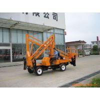 人工牵引或者柴油曲臂式升降机 液压升降台 车载式升降机