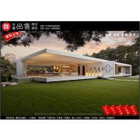 售上海沪惠114m2钢结构模块房 住宅 移动集装箱类房屋 临时渡假酒店装修设施及施工