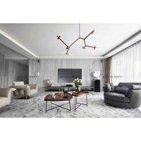合川紫云岭2000平米豪宅装修完工效果,别墅现代轻奢风格设计
