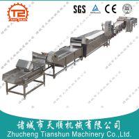 TS-8000型养心菜清洗加工成套设备(报价以及价格)