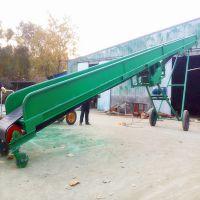 都用-码头散沙子输送机 定做1000mm宽大型输送机 农业粮食卸车皮带机
