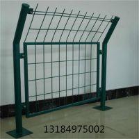 现货销售高速公路框架护栏网 双边丝防护网