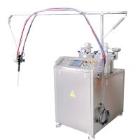 久耐机械高粘度AB胶灌注机、带填充料AB灌胶机、带填充料环氧树脂灌胶机