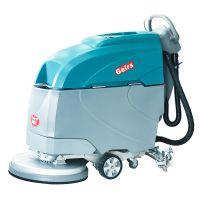 办公室厂房用手推式全自动洗地机环氧瓷砖地面用振瑞斯电动式洗地车