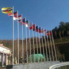 九江市做会展中心不锈钢旗杆厂家 彭泽县政府机关旗杆设计