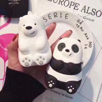 新款创意雪熊裸熊充电宝便携式可爱迷你卡通通用冲手机移动电源