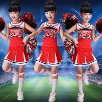 新款儿童啦啦操演出服儿童啦啦队服装幼儿舞蹈服装舞台表演服