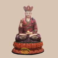 四大菩萨佛像图片大全 地藏王菩萨像批发 河南彩绘贴金寺庙神像 九华山地藏菩萨神像