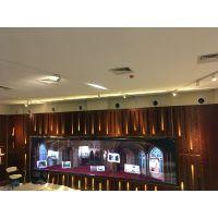 IRMT精研电子为厦门鼓浪屿风琴艺术中心提供红外多点触摸2×5拼接触控案例展示