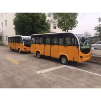 重庆九龙坡电动观光车 厂家直销带门14座电动观光车 景区休闲乘座车