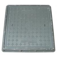 【厂家直销】600*600*50mm-高分子树脂复合材料井盖 园林 市政 道路 小区 方形井