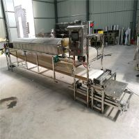 全自动圆形粉皮机价格全自动圆形绿豆粉皮机小型蒸汽式凉皮机厂家