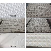 厂家专业定制中式风格玄关隔断屏风通花板波浪板雕刻板简约