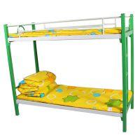 小学生午托170*70铁床上下铺铁床双层托管床扎实牢固双层午托铁床