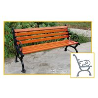 户外园林椅 景观长瞪凳 休闲长凳 实木公园椅