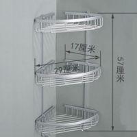 太空铝 三层铝篮 三角置物架 三角铝篮 五金挂件批发 厂家直销