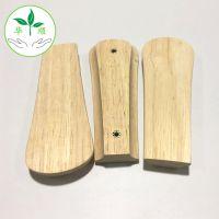 厂家直销长短孔距橡胶木橡胶木双孔木拉手家具抽屉木把手