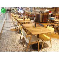 定制湘菜馆串串香通用板式餐桌现代中式快餐桌款式多多