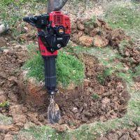 杨树苗移栽机 便携式汽油挖树机 福泽盛达牌