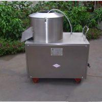 家用电动土豆去皮机 不锈钢快餐加工设备 果蔬多功能清洗机