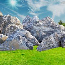 石雕雪浪石 风景石假山石天然大理石纹路雪浪石切片泰山石组合园林景观装饰雕塑摆件曲阳万洋雕刻厂家定做