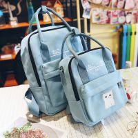 小学生补课包双肩免邮手提袋女帆布初中生女童韩版儿童补习袋