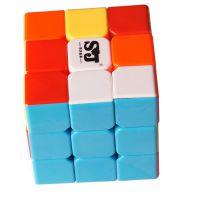 儿童益智玩具 5.7cm优质顺滑三阶魔方 厂家批发 商超校园店畅销