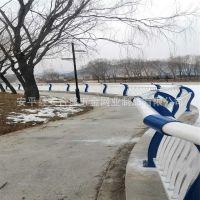 厂家直销河边护栏 复合管大桥护栏 不锈钢安全防撞景观护栏定做