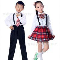 六一儿童校园演出服中小学生少儿集体舞台诗歌朗诵表演大合唱服装