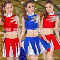2015足球宝贝服装啦啦队服装演出服啦啦操服装表演服新款