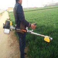 庞泰割草机换上相应的工作头可做轻便式收割机用
