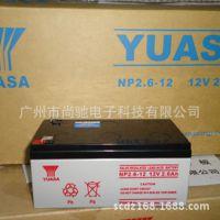 YUASA汤浅蓄电池  NP2.6-12 12V2.6AH福禄克FLUKE蓄电池 电瓶